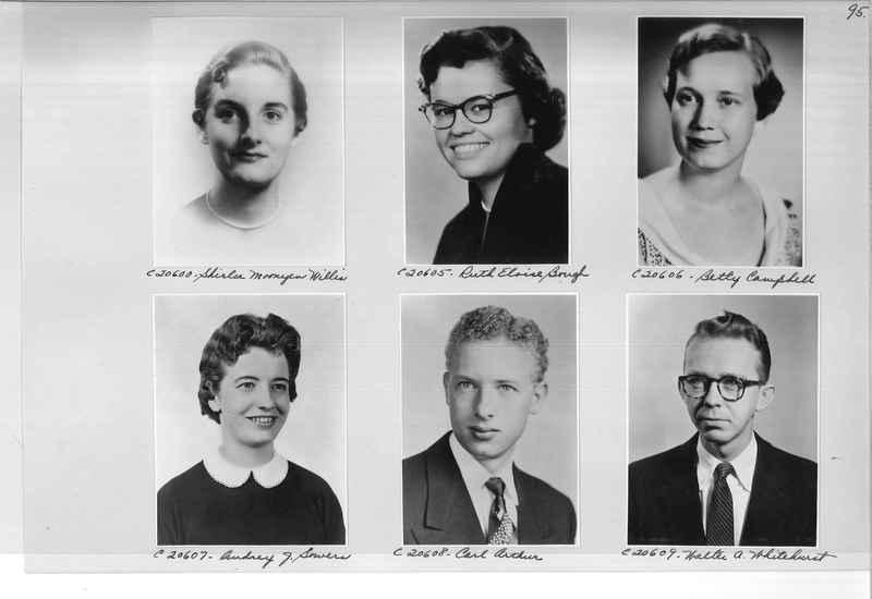 Mission Photograph Album - Portraits #09 Page 0095