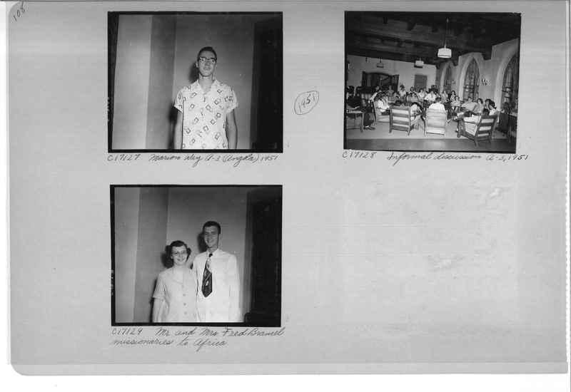 Mission Photograph Album - Portraits #07 Page 0108