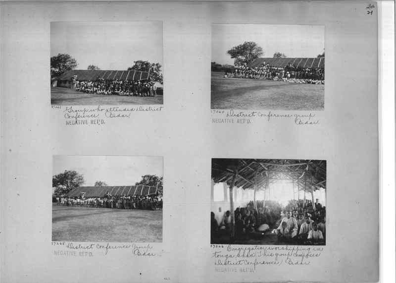 Mission Photograph Album - India #10 Page 0021