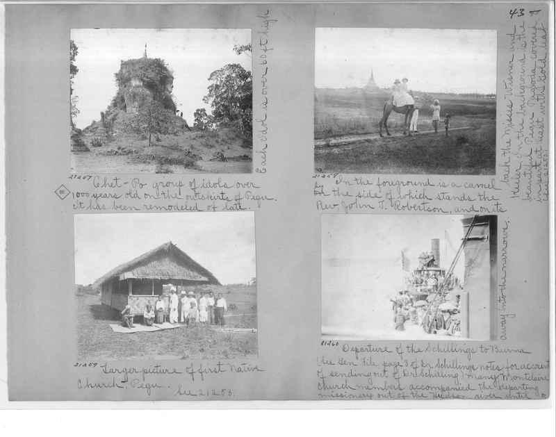 Mission Photograph Album - Burma #1 page 0043