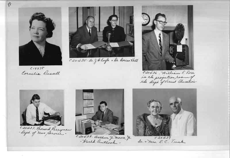 Mission Photograph Album - Portraits #09 Page 0088