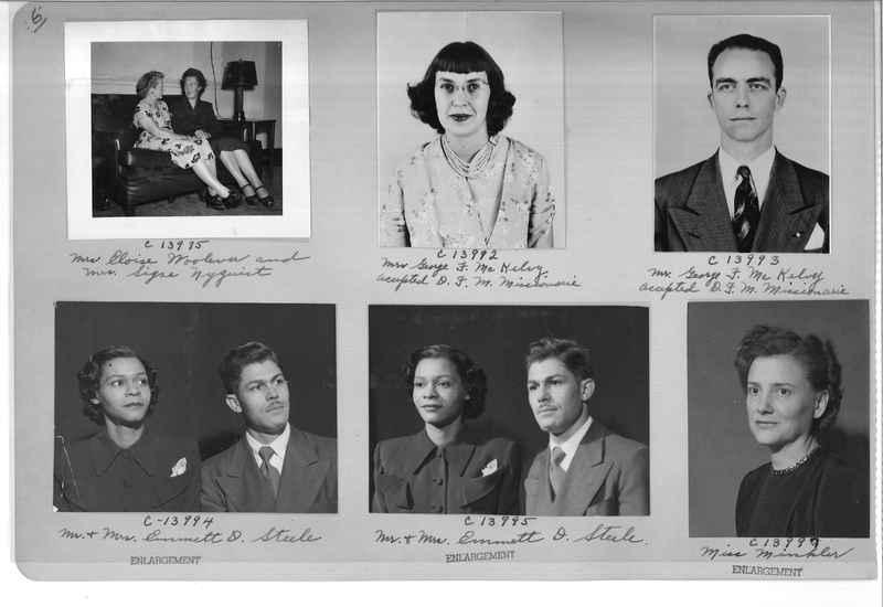 Mission Photograph Album - Portraits #07 Page 0006