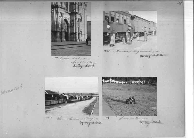 Mission Photograph Album - Mexico #05 page 0105