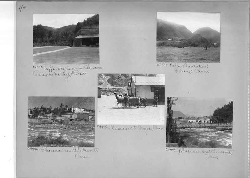 Misson Photograph Album - South America #8 page 0116