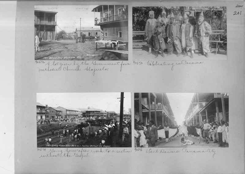 Mission Photograph Album - Panama #04 page 0201