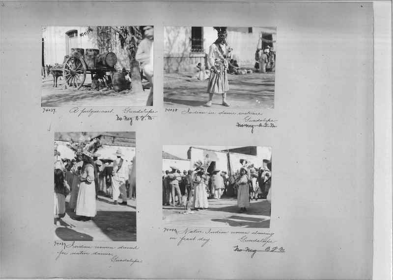 Mission Photograph Album - Mexico #05 page 0004