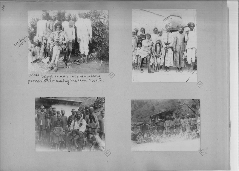 Mission Photograph Album - India - O.P. #02 Page 0134