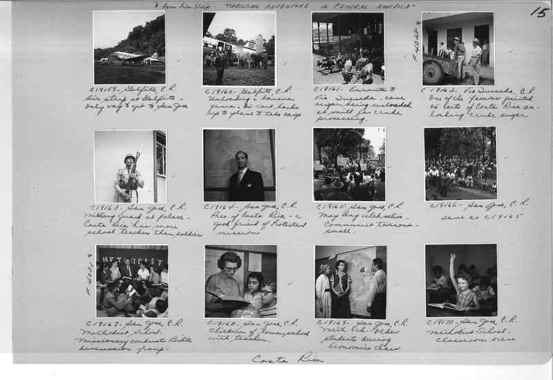 Mission Photograph Album - Panama #05 page 0015
