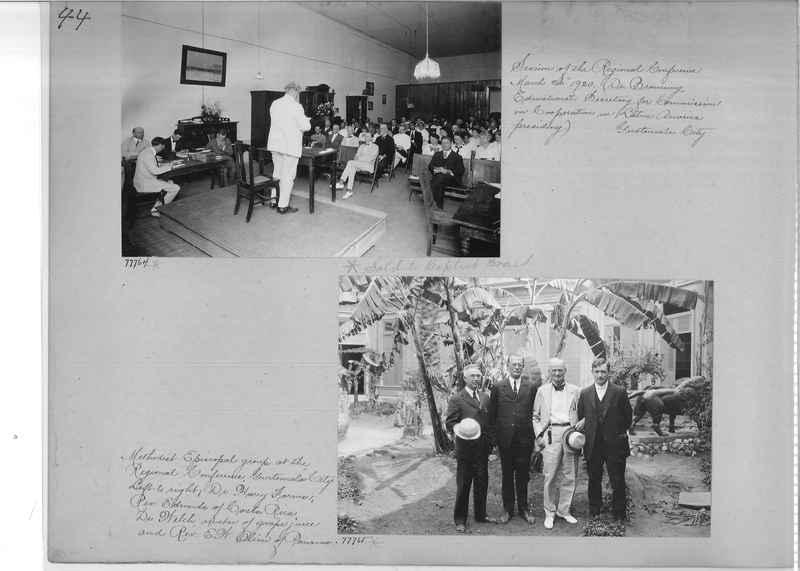 Mission Photograph Album - Panama #04 page 0044