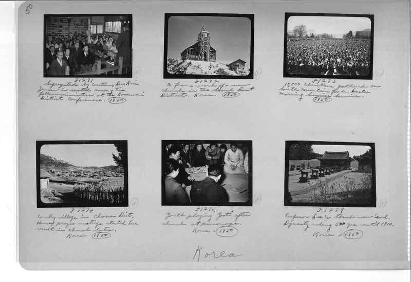 Mission Photograph Album - Korea #6 page 0050