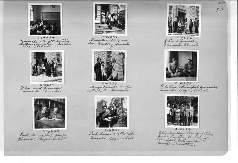 Mission Photograph Album - Japan #07 Page 0043