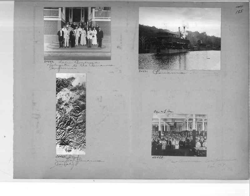 Mission Photograph Album - Panama #1 page  0135
