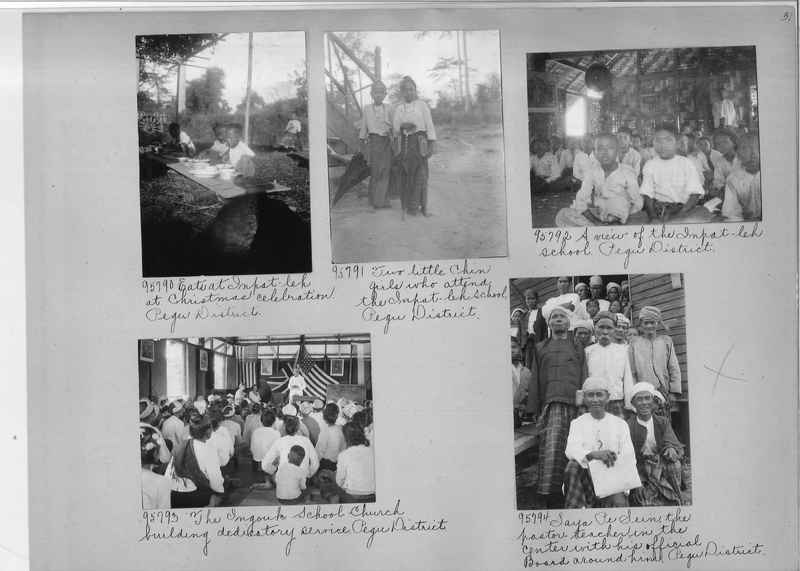 Mission Photograph Album - Burma #2 page 0031