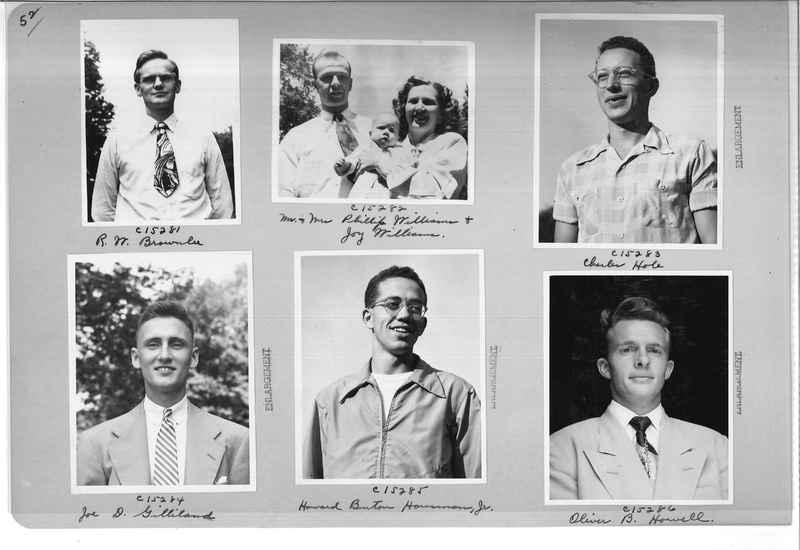 Mission Photograph Album - Portraits #07 Page 0052