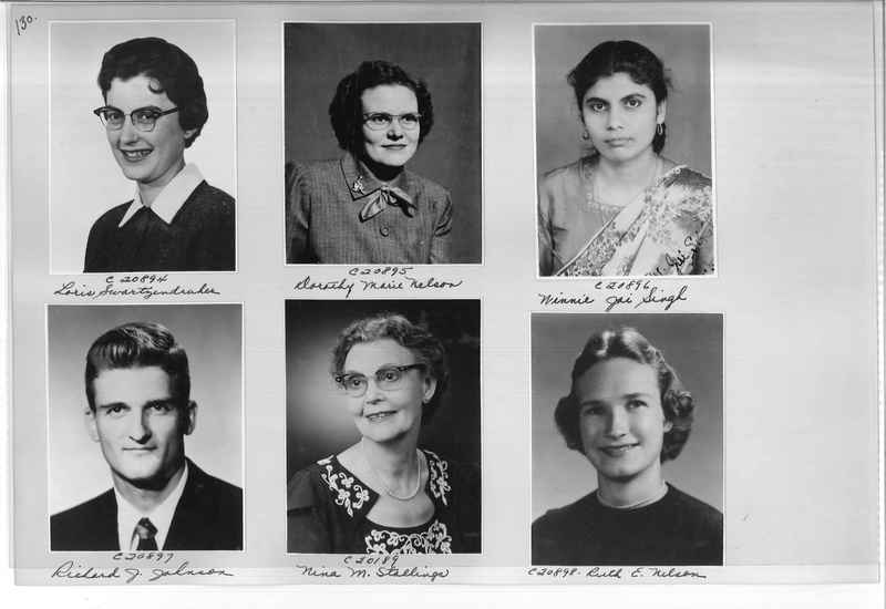 Mission Photograph Album - Portraits #09 Page 0130