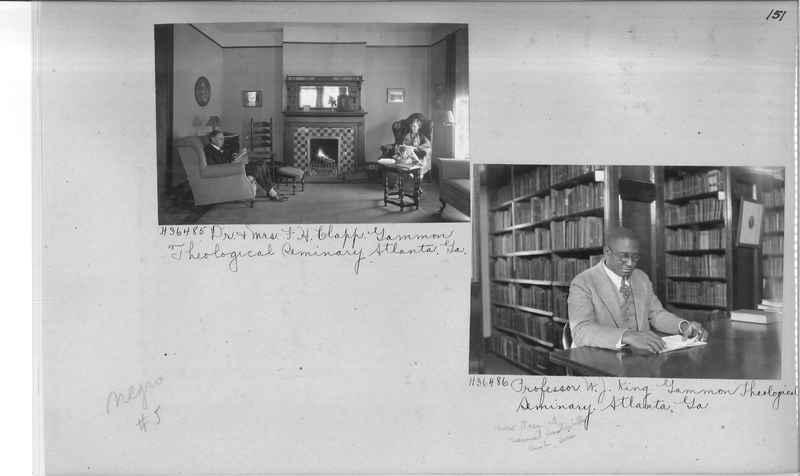 Mission Photograph Album - Negro #5 page 0151