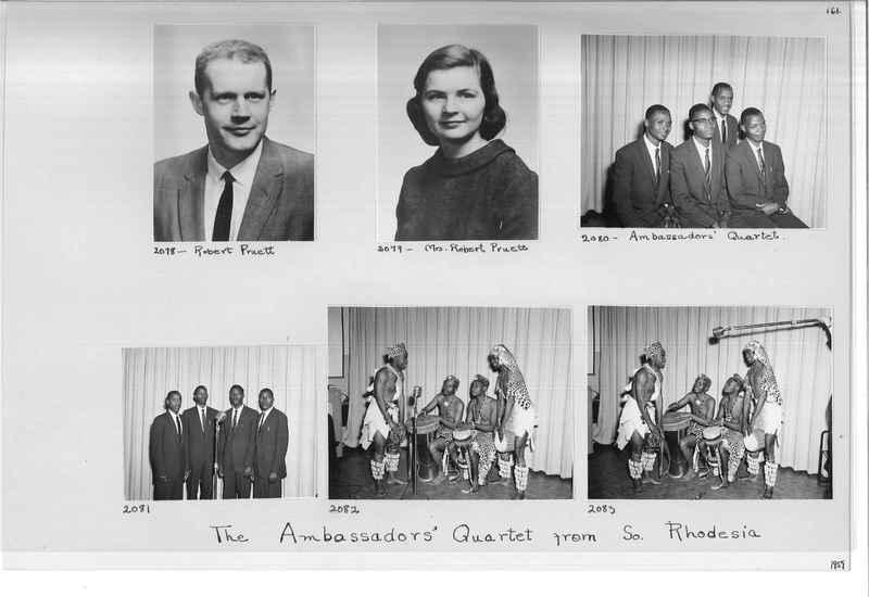 Mission Photograph Album - Portraits #11 Page 0161