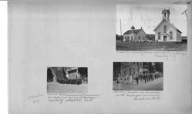 Mission Photograph Album - Education #1 page 0183