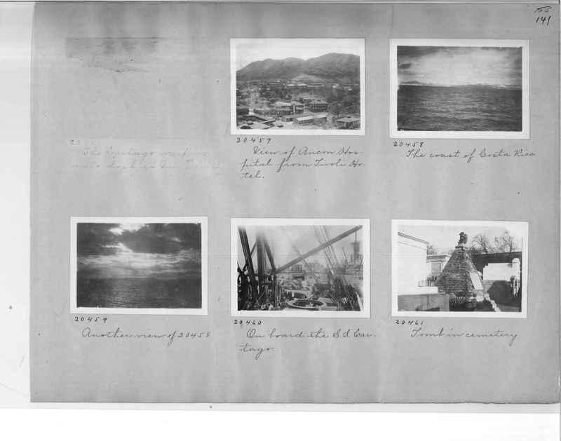 Mission Photograph Album - Panama #1 page  0141