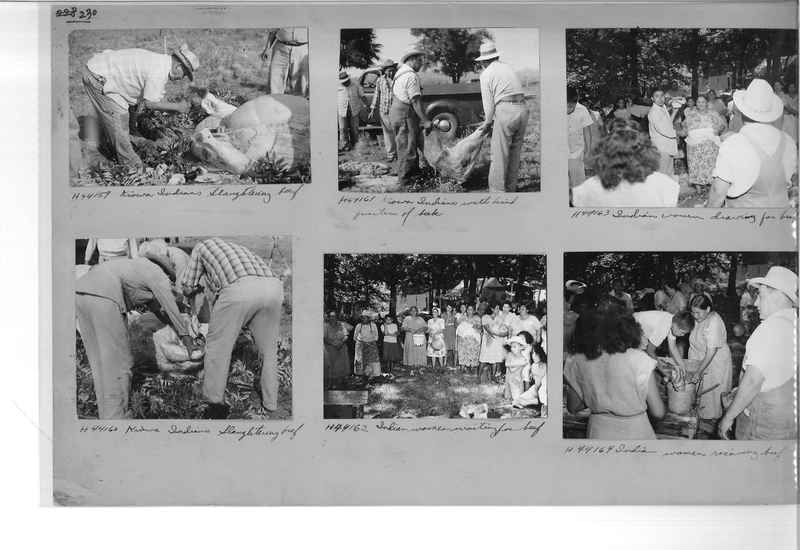 Mission Photograph Album - Indians #2 page_0230