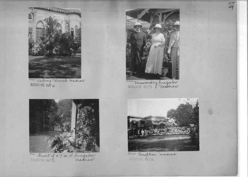Mission Photograph Album - India #10 Page 0029