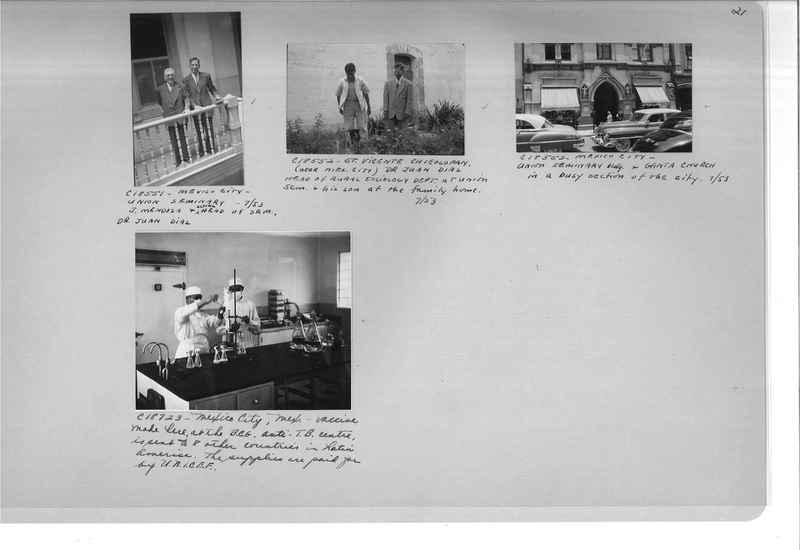 Mission Photograph Album - Mexico #09 Page 0021