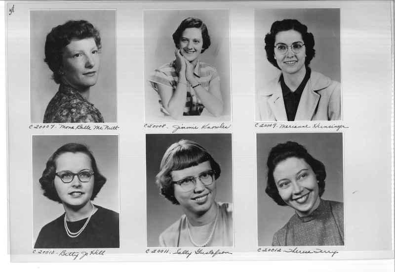 Mission Photograph Album - Portraits #09 Page 0038