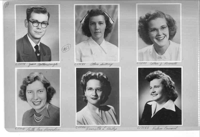 Mission Photograph Album - Portraits #07 Page 0100