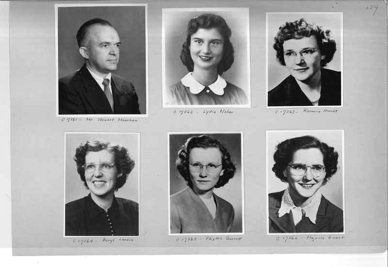 Mission Photograph Album - Portraits #07 Page 0129