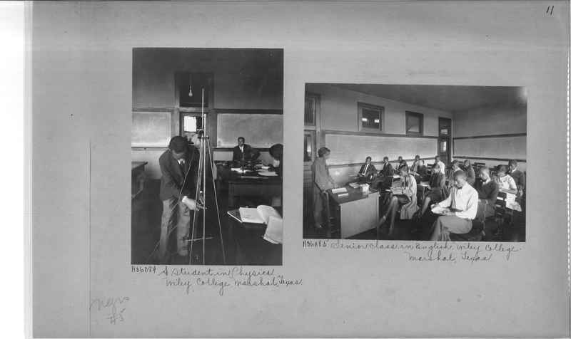Mission Photograph Album - Negro #5 page 0011