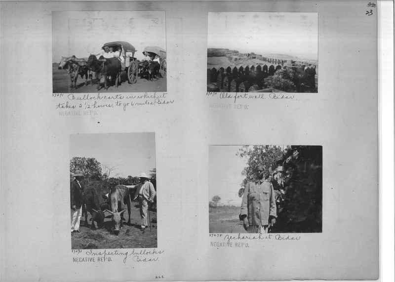 Mission Photograph Album - India #10 Page 0023