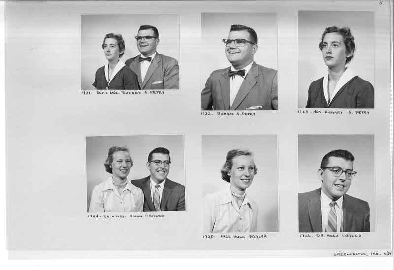 Mission Photograph Album - Portraits #12 Page 0005