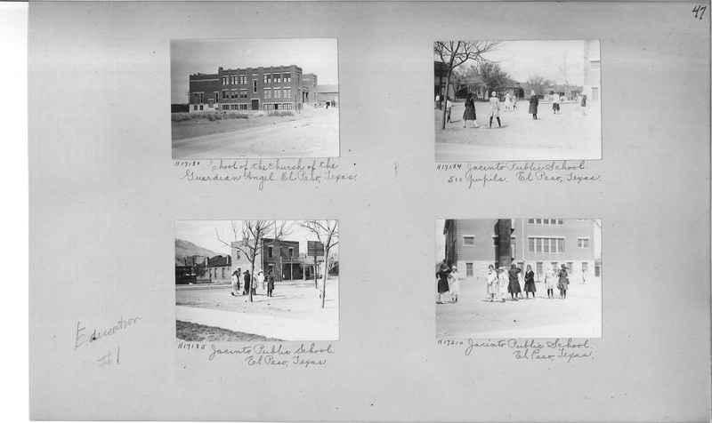 Mission Photograph Album - Education #1 page 0047