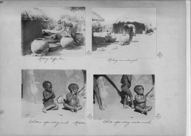 Mission Photograph Album - Africa O.P. #4 page 0022