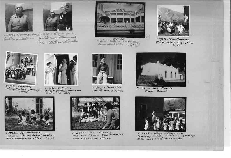Mission Photograph Album - Mexico #09 Page 0014
