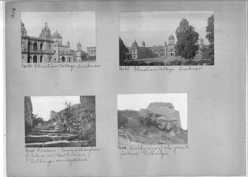 Mission Photograph Album - India #10 Page 0216
