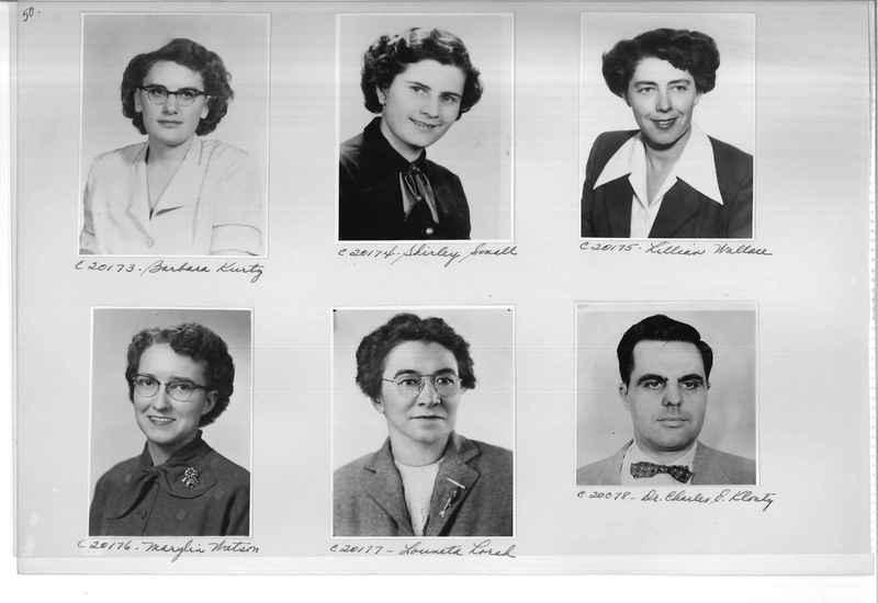 Mission Photograph Album - Portraits #09 Page 0050