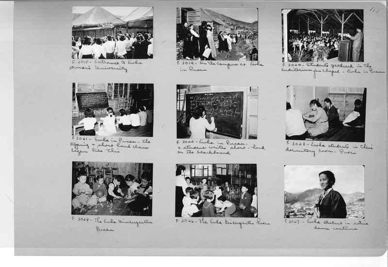 Mission Photograph Album - Korea #6 page 0111