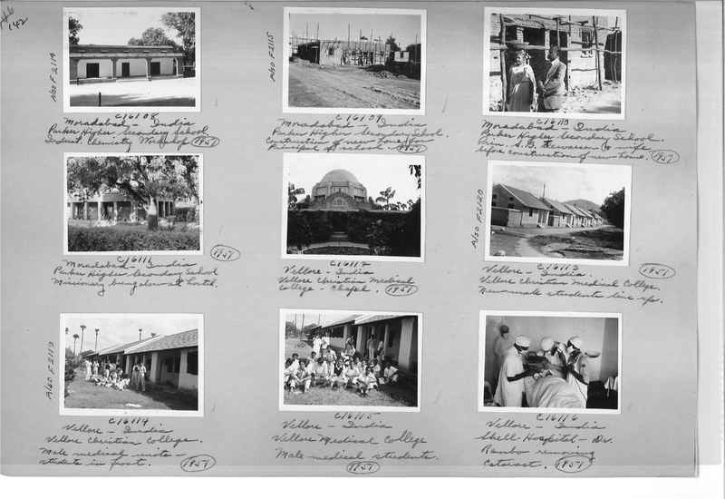 Mission Photograph Album - India #14 Page 0142