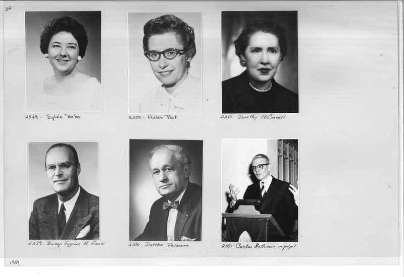Mission Photograph Album - Portraits #12 Page 0032
