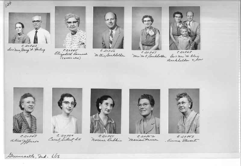 Mission Photograph Album - Portraits #09 Page 0124