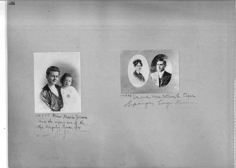 Mission Photograph Album - Portraits #1 page 0026
