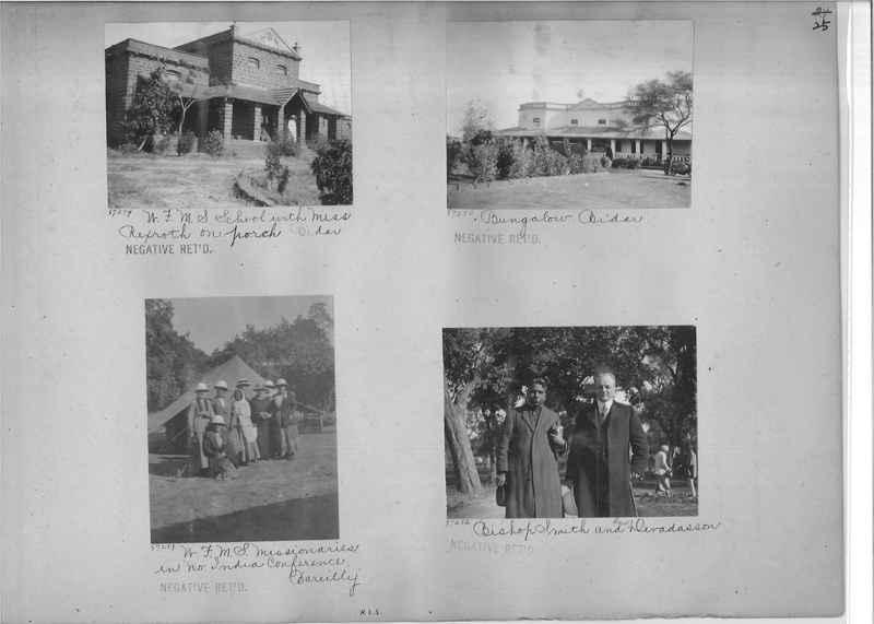 Mission Photograph Album - India #10 Page 0025