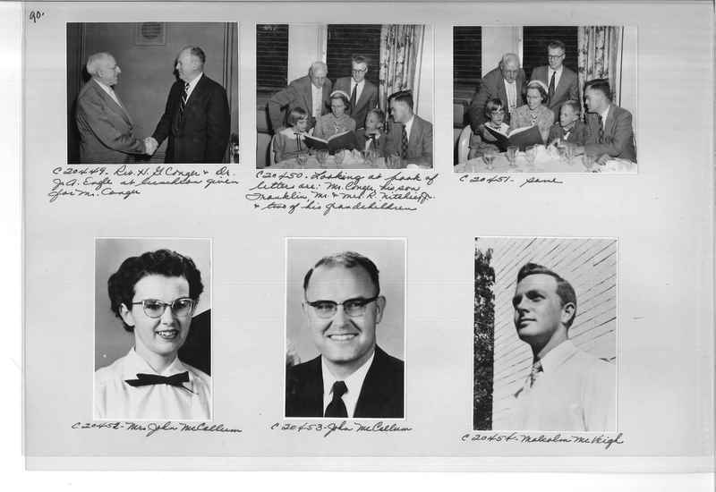 Mission Photograph Album - Portraits #09 Page 0090