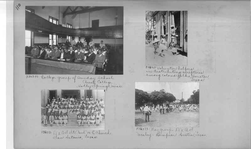 Mission Photograph Album - Negro #5 page 0110