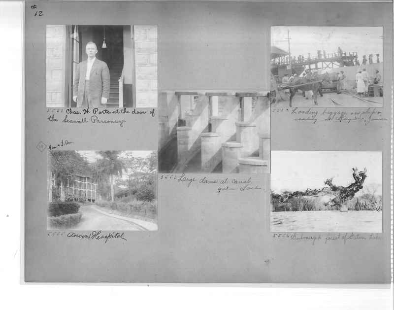 Mission Photograph Album - Panama #1 page  0012