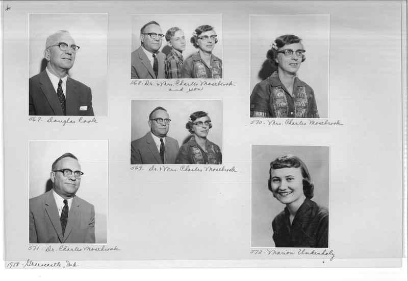 Mission Photograph Album - Portraits #11 Page 0046