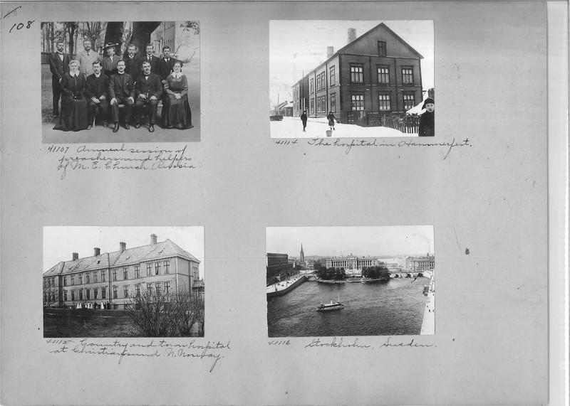 Mission Photograph Album - Europe #02 Page 0108