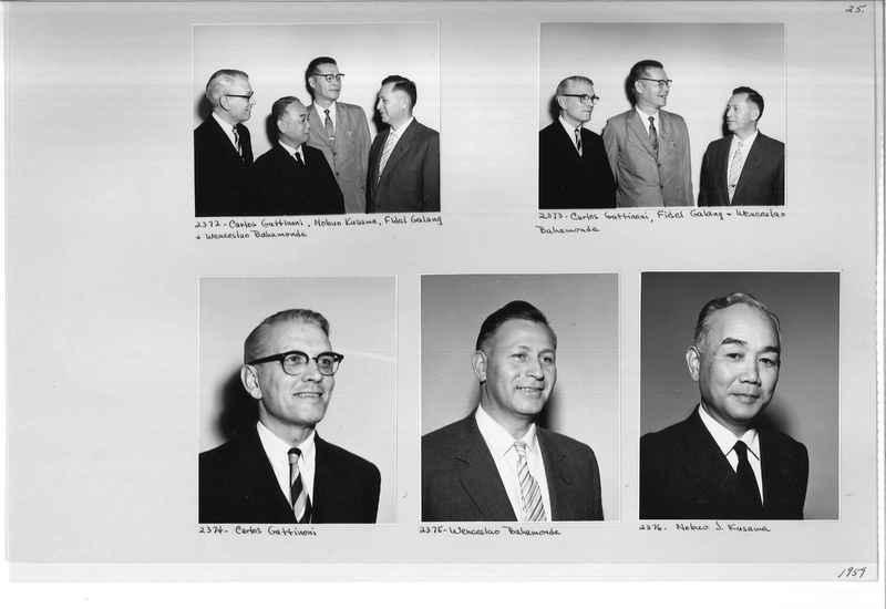 Mission Photograph Album - Portraits #12 Page 0025