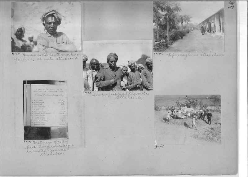 Mission Photograph Album - India #10 Page 0109